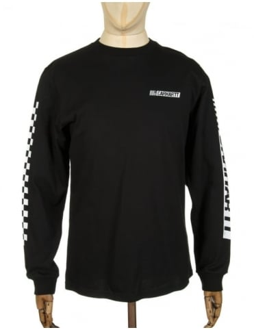 Carhartt L/S Cart T-shirt - Black/White