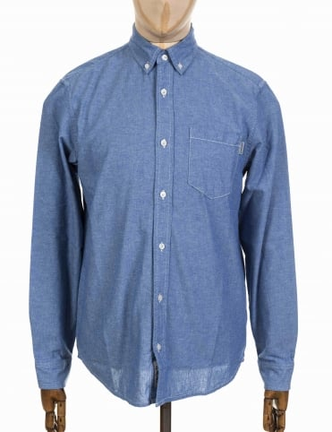 L/S Civil Shirt - Glacier Blue