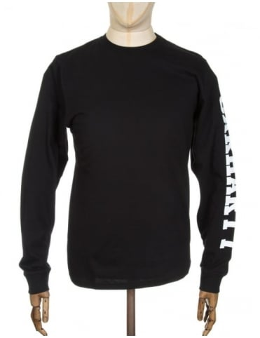 Carhartt L/S College Left T-shirt - Black/White