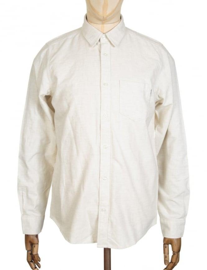 Carhartt L/S Griffith Shirt - Snow Heather
