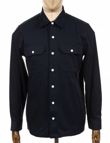L/S Master Shirt - Dark Navy