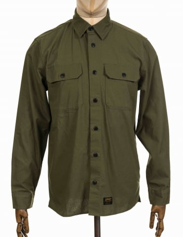 L/S Mission Shirt - Rover Green