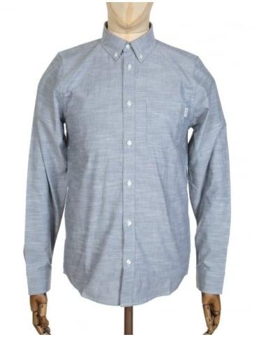 Carhartt L/S Rogers Shirt - Blue