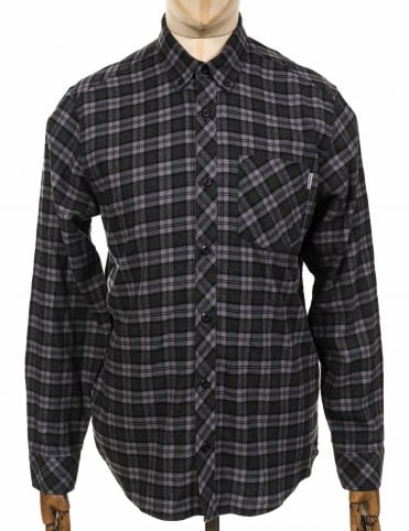 L/S Shawn Shirt - Sparrow Check