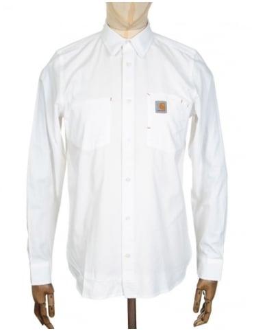 Carhartt L/S State Shirt - Wax