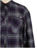 Carhartt L/S Tatum Check Shirt - Emperor Purple