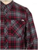 Carhartt L/S Tatum Check Shirt - Scarlet Red