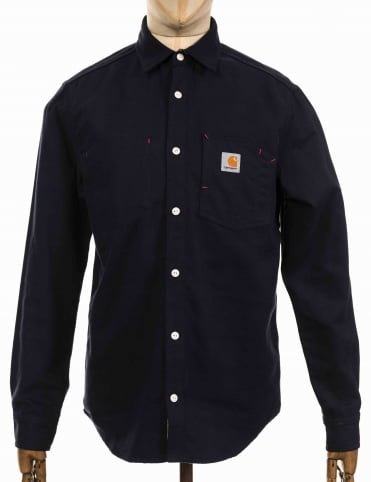 L/S Tony Shirt - Dark Navy