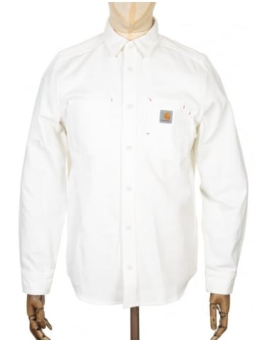 Carhartt L/S Tony Shirt - Snow