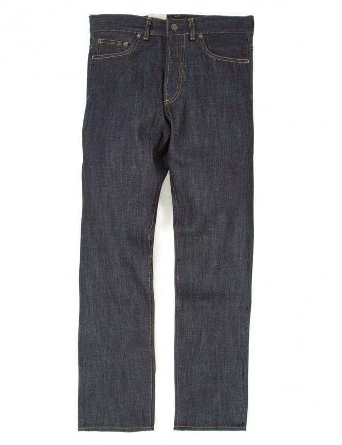 Carhartt Leyton Pant - Blue Rigid (Selvedge Denim)