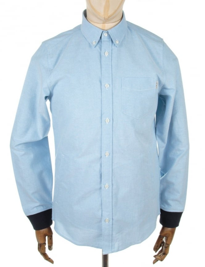 Carhartt LS Pattison Shirt - Columbia/Duke Blue