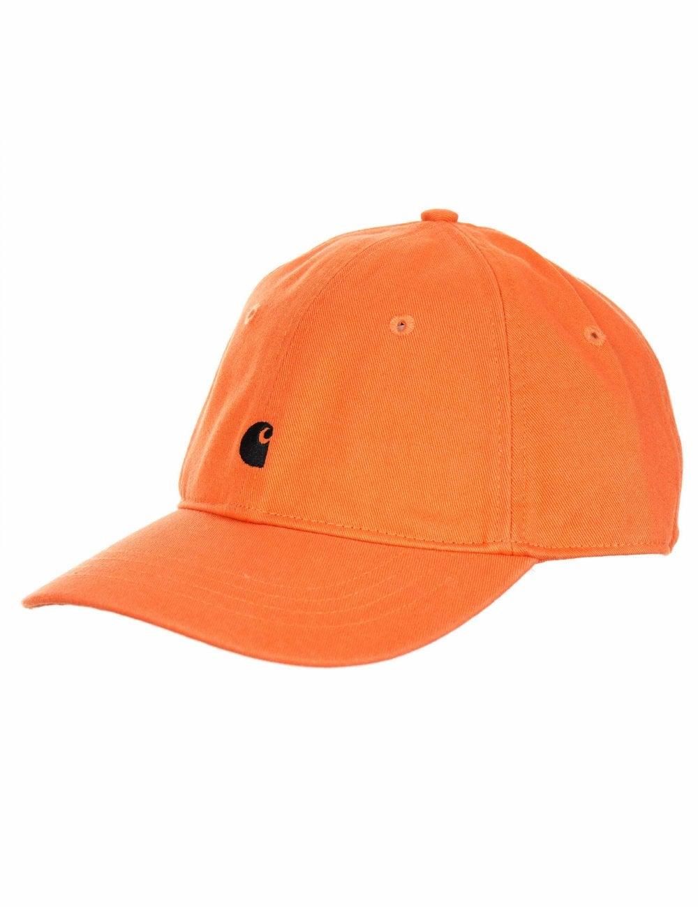 fbaf50dbe51 Carhartt WIP Madison Logo Cap - Jaffa - Hat Shop from Fat Buddha ...