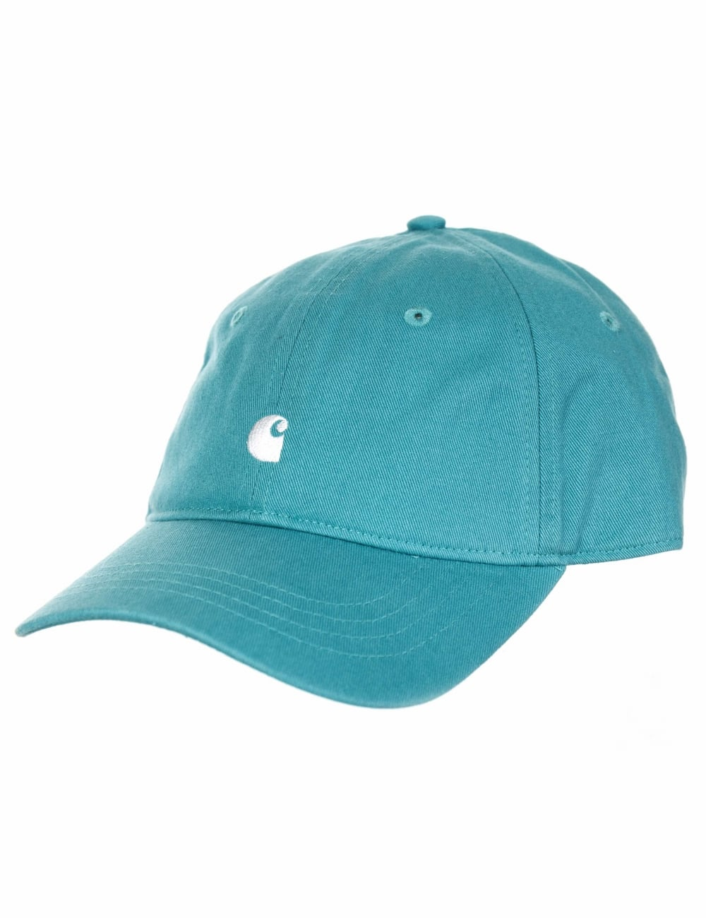 af91b3ba7e4 Carhartt WIP Madison Logo Cap - Soft Teal - Accessories from Fat ...