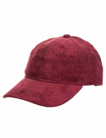 7c0f7b56f72bf Carhartt WIP Manchester Cord Hat - Mulberry