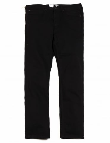 Marlow Pant - Black Rinsed (Maitland Denim)
