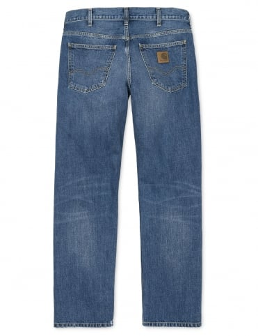 Marlow Pant - Blue True Stone (Edgewood Denim)