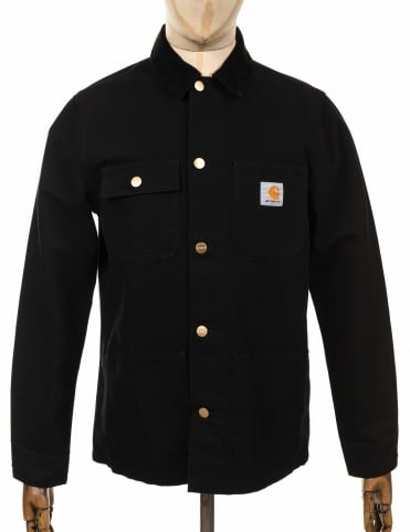 Michigan Chore Coat - Black/Black