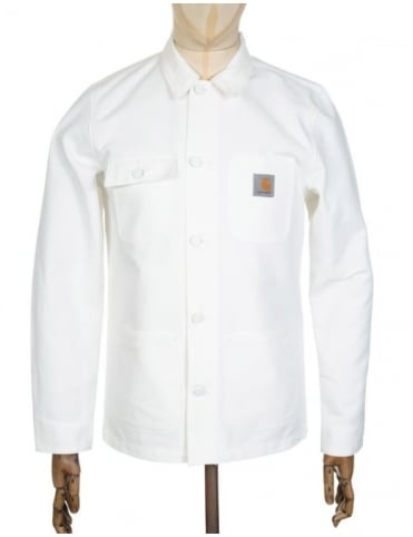 Carhartt Michigan Chore Coat - Broken White