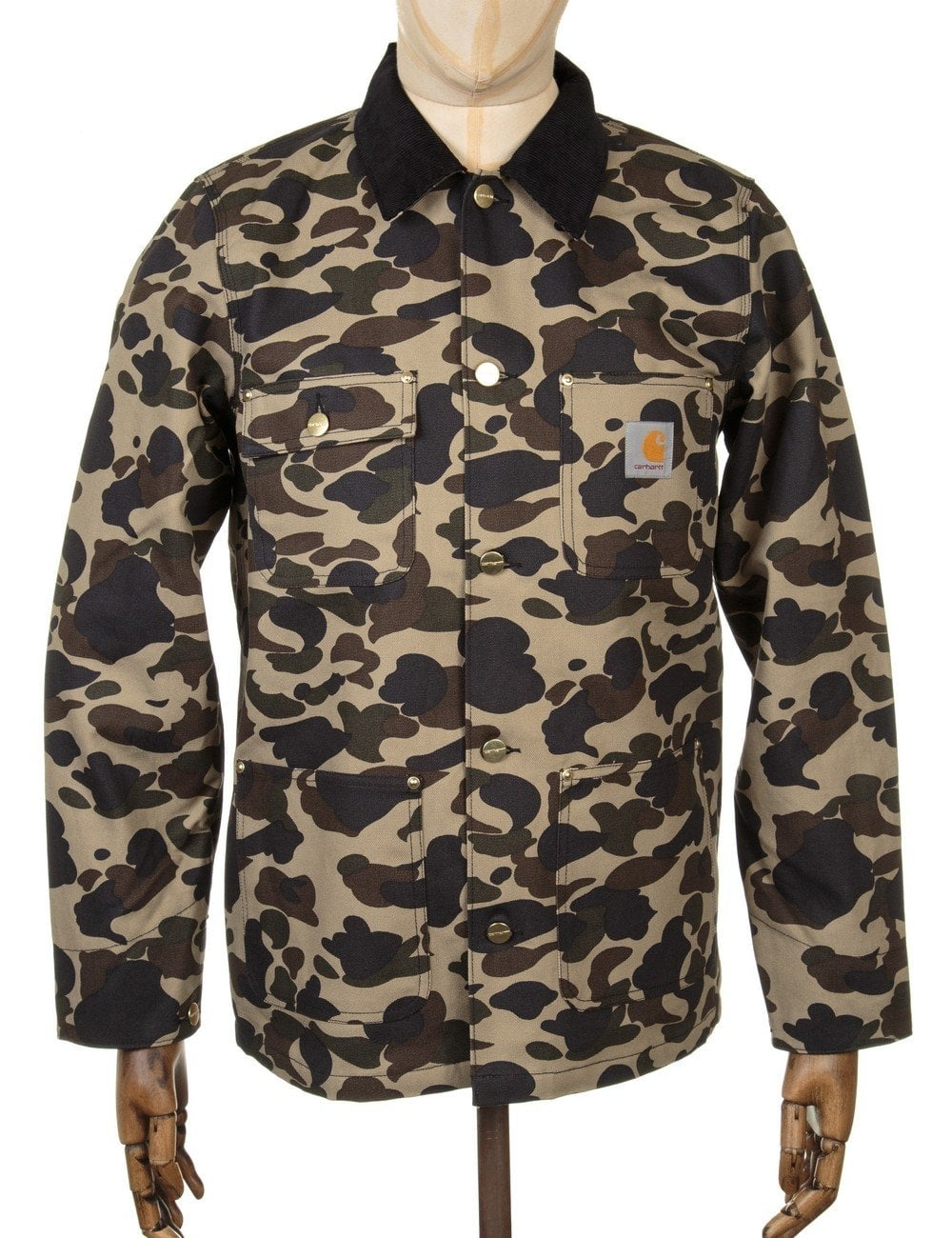 649cb2410ea03 Carhartt WIP Michigan Chore Coat - Camo Duck - Clothing from Fat ...