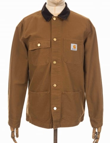 Michigan Chore Coat - Hamilton Browm/Tobacco