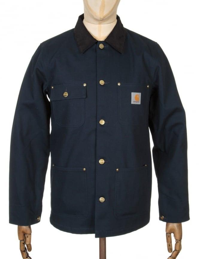 Carhartt Michigan Chore Coat - Navy