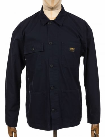 Michigan Shirt Jacket - Dark Navy
