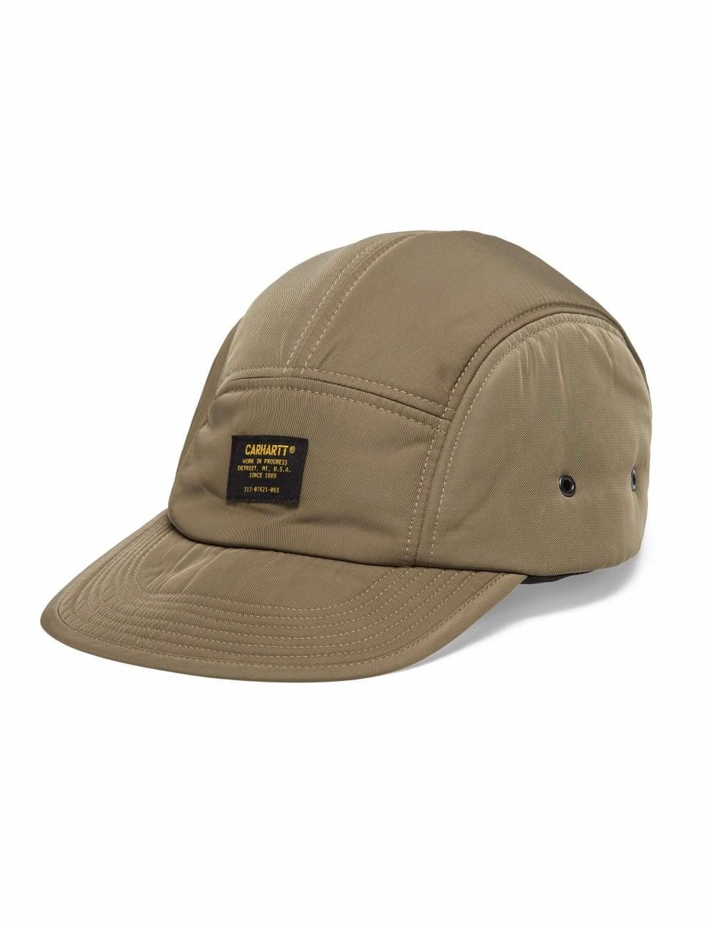 421496e87a91f Carhartt WIP Military Logo Cap - Tundra - Accessories from Fat ...