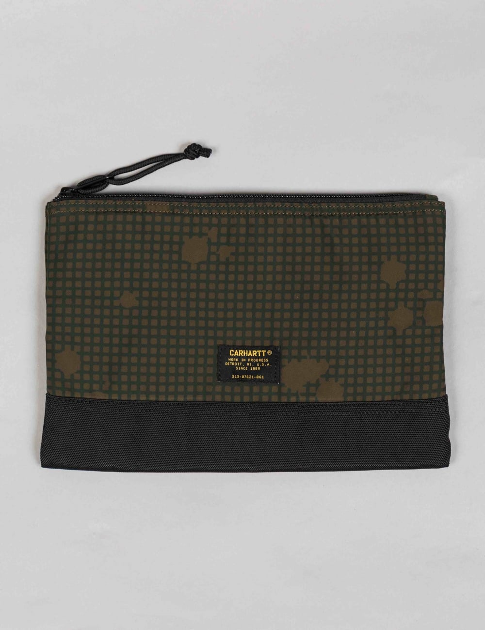 9edf051dc1 Carhartt WIP Military Pouch Large - Camo Night/Combat Green ...