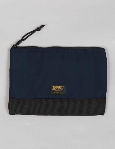 Military Pouch Large - Navy/Black