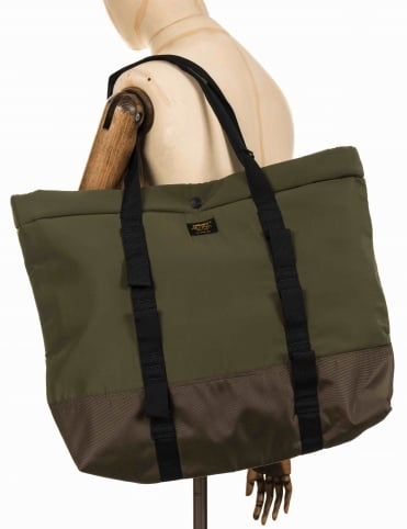 Military Shopper Tote Bag - Rover Green/Cypress