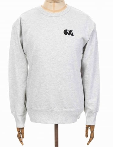 Military Training Sweatshirt - Ash Heather