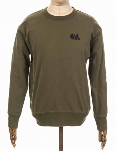 Military Training Sweatshirt - Rover Green