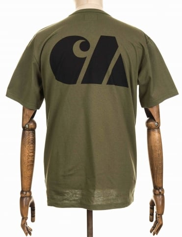 Military Training Tee - Rover Green/Black
