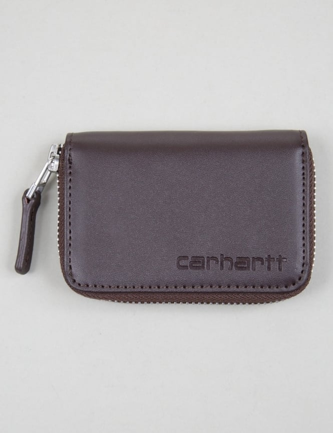 Carhartt Mini Cow Leather Wallet - Tobacco