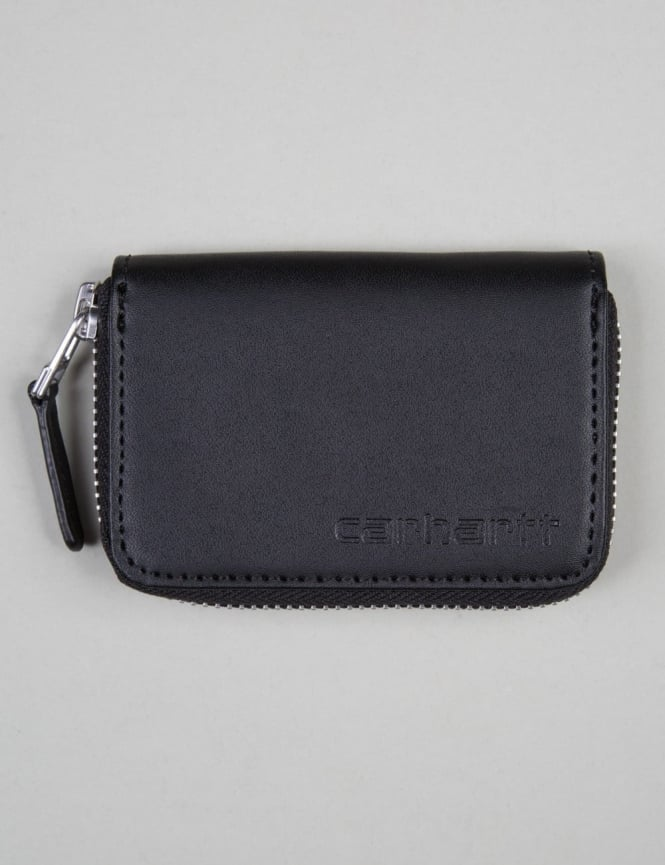 Carhartt Mini Leather Wallet - Black