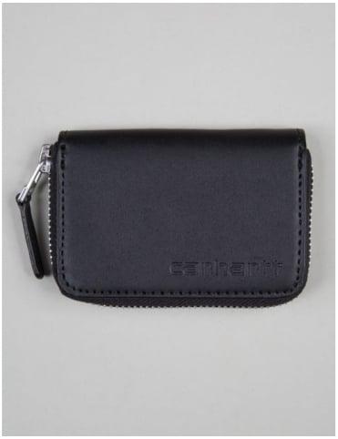 Carhartt Mini Leather Wallet - Black