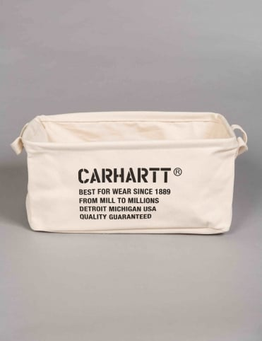 Carhartt Mission Basket - Snow/Black