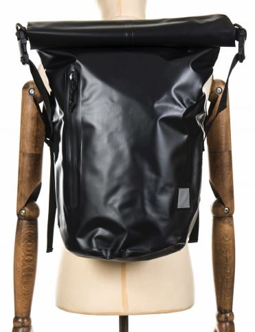 Neptune Backpack - Black PVC