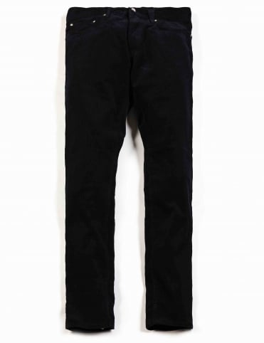 Oakland Cord Pant - Dark Navy (Valley Cord)