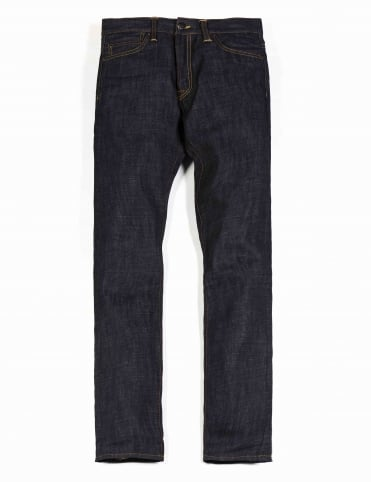 Oakland Pant - Blue Rigid (Nihama Japanese Denim)
