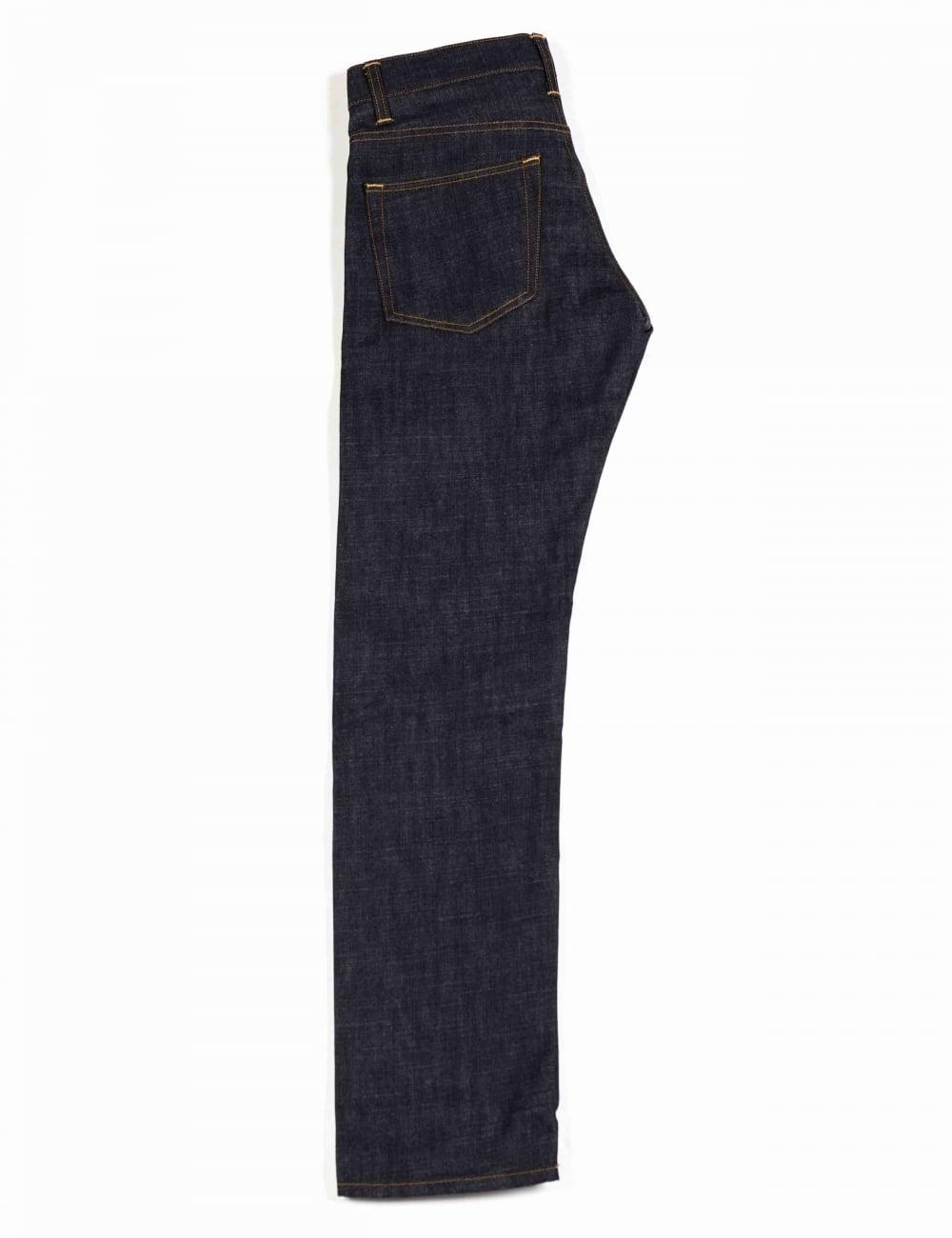 Nihama Japanese Denim Carhartt WIP Oakland Pant Blue Rigid