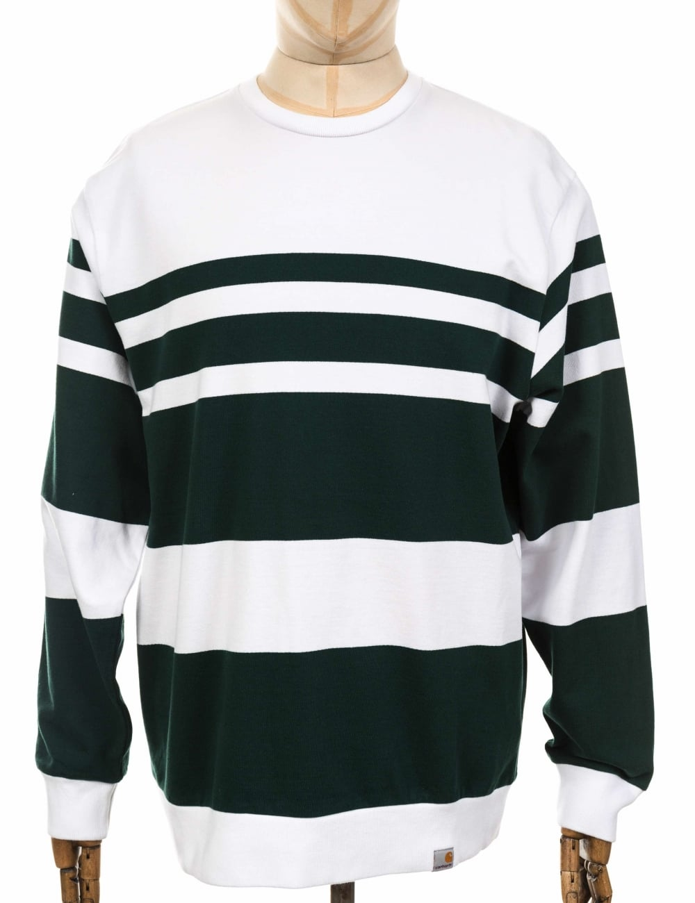 0994eb9c789 Carhartt WIP Orlando Sweatshirt - White Tasmania - Clothing from Fat ...