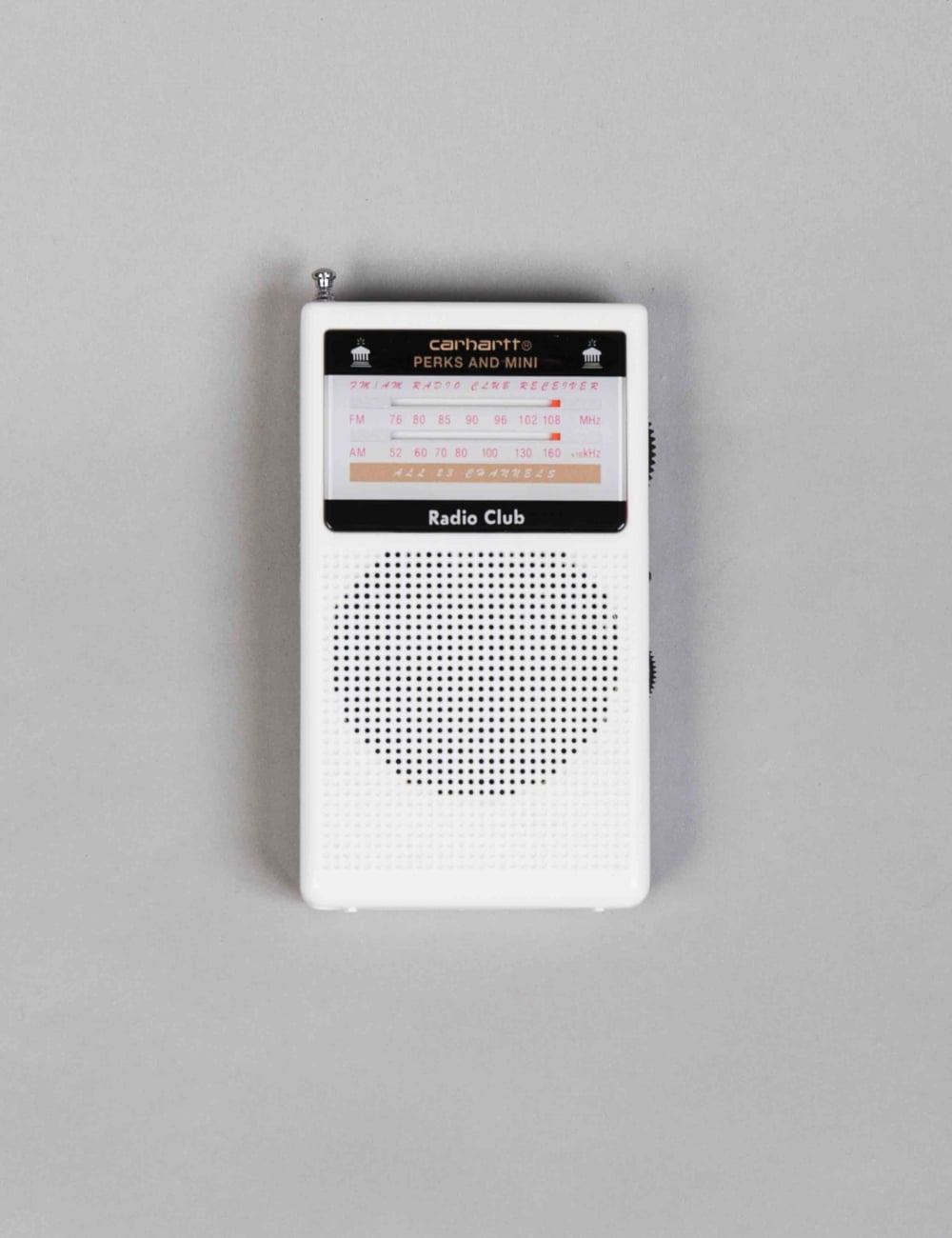 Carhartt Wip Pam Radio Club Portable White Lifestyle From