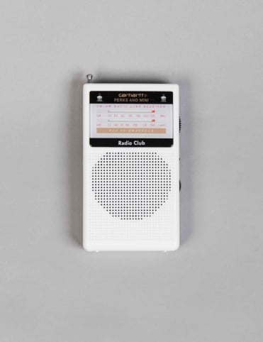 PAM Radio Club Portable Radio - White