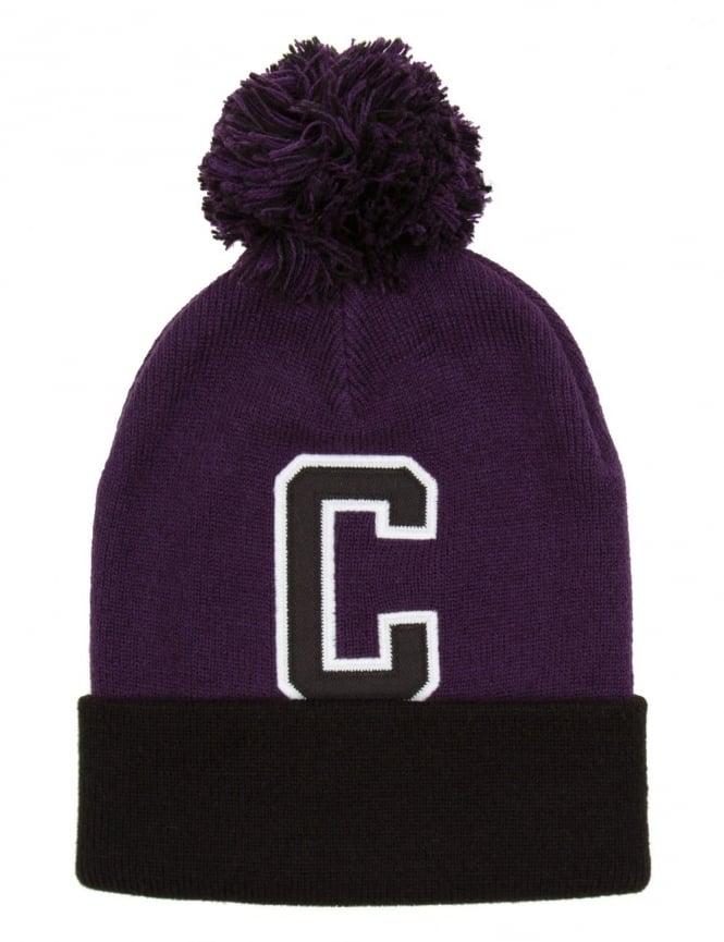 Carhartt Penn Beanie Hat - Emperor Purple/Black
