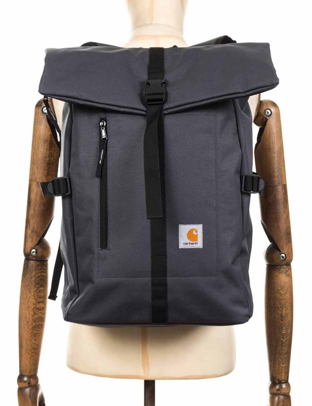 Carhartt WIP Phil Backpack - Blacksmith - Accessories from Fat ...