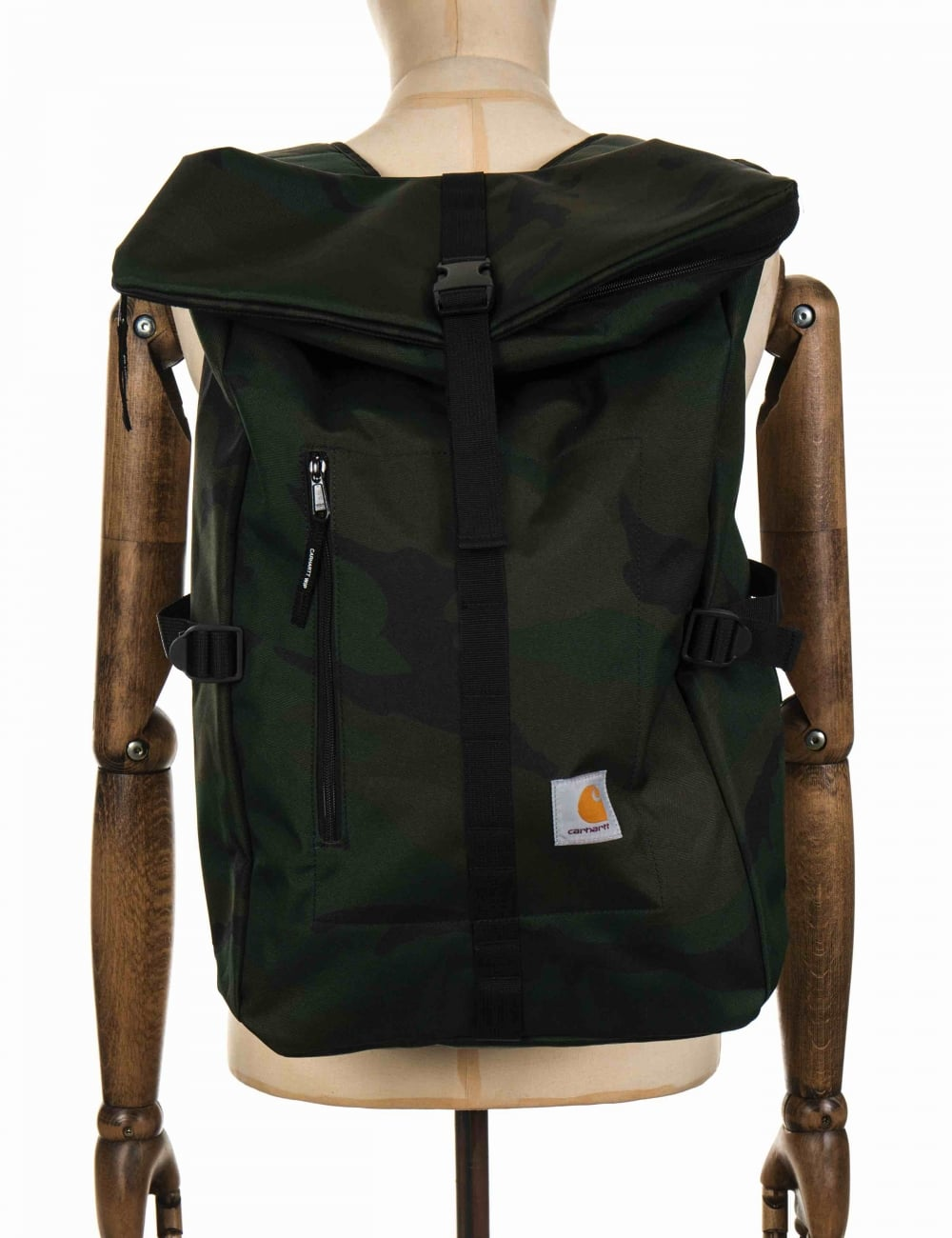 Carhartt WIP Phil Backpack - Camo Combat Green - Accessories from ...