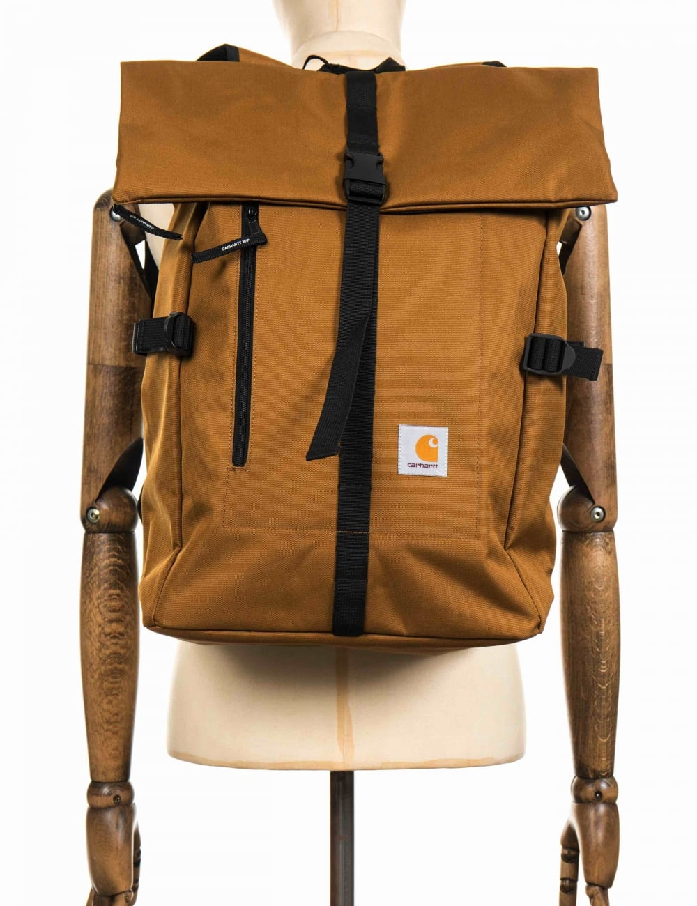 Carhartt WIP Phil Backpack - Hamilton Brown - Accessories from Fat ...