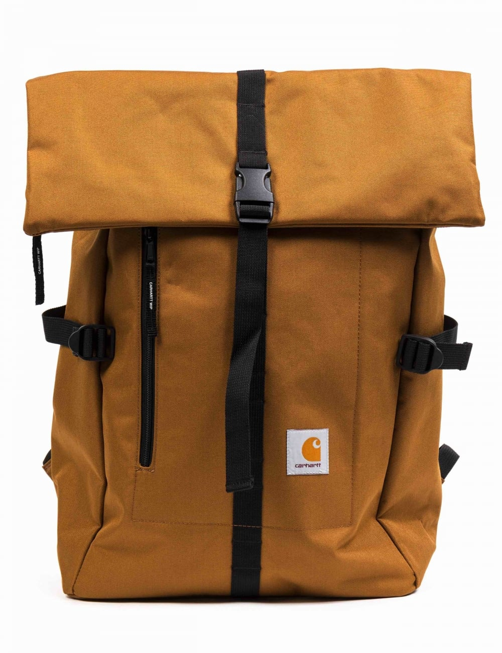 b37a0ed3e7 Carhartt WIP Phil Backpack - Hamilton Brown - Accessories from Fat ...