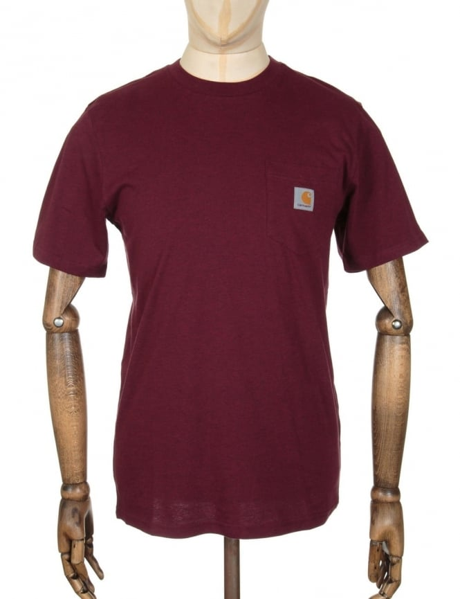 Carhartt Pocket T-shirt - Chianti Heather